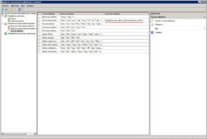 Группы файлов, исключенные файлы