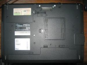 Esprimo Mobile M9400 разбор ноутбука